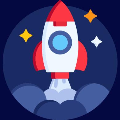 Cohete despegando - Flaticon