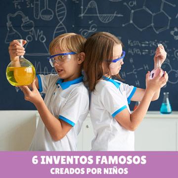 6 Inventos Famosos creados por Niño