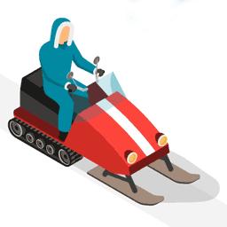 Moto de Nieve - Flaticon