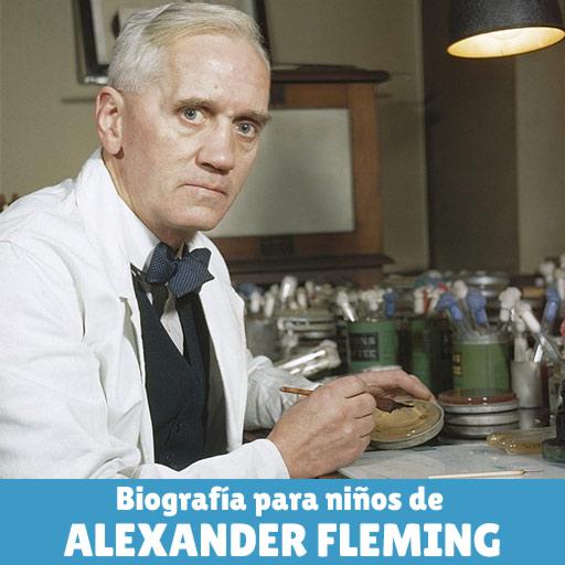 Fotografía de Alexander Fleming