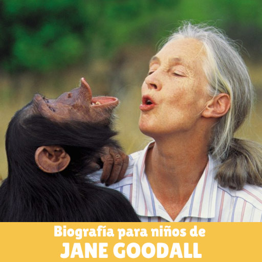 Fotografía de Jane Goodall