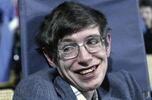 Stephen Hawking en su juventud