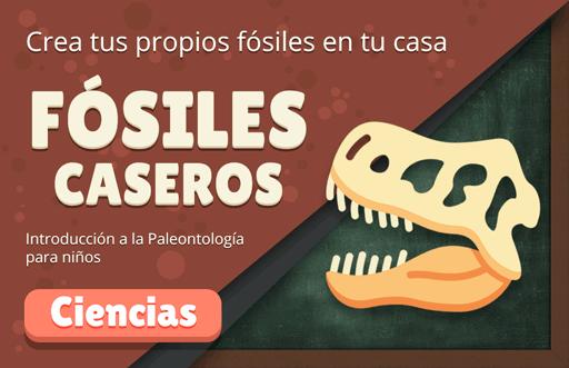 Manualidad paleontológica