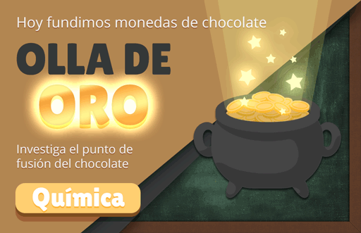 Olla de Oro: fundir chocolate