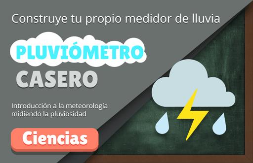 Pluviómetro casero para niños: experimento de meteorología